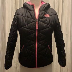 The north face reversible girls jacket 8-10